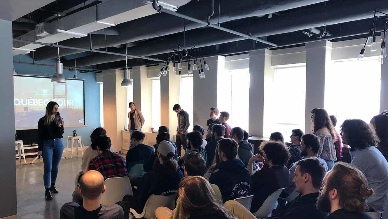 Masterclasse Ubisoft Qc à ISART Montréal