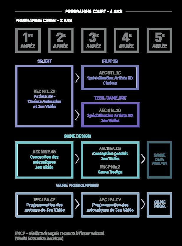 schema cursus montreal